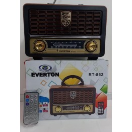 Everton RT-862BT USB/SD/FM/Bluetooth Destekli Kumandalı Nostaljik Radyo