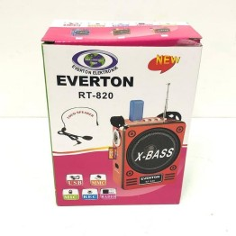Everton RT-830 Radyo Usb Sd Kart Mp3 Çalar Mikrofon