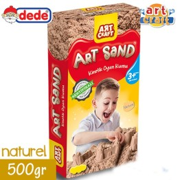 Kinetik Kum Art Craft Kutulu 500gr Naturel